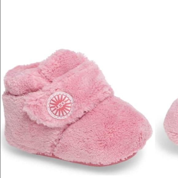 258e35bc347 Ugg Bixbee BubbleGum Pink Bootie, Size 0-6months